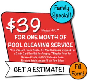 Sublime Pools Discounts: $39 for one month of pool service