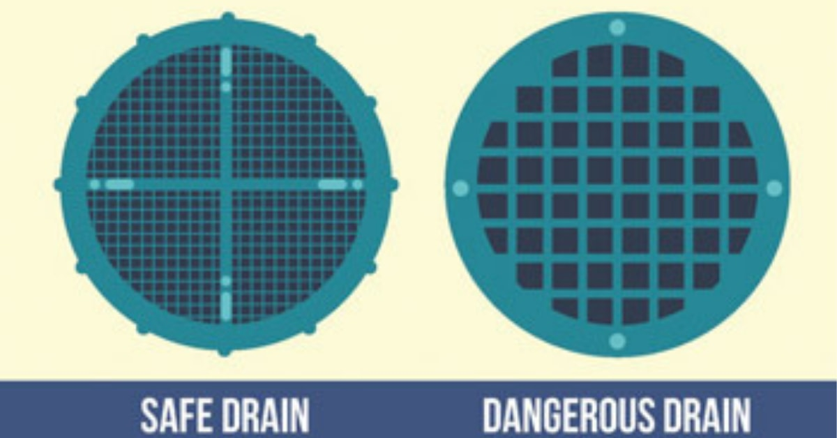 VGBA Saftey covers for pool drains
