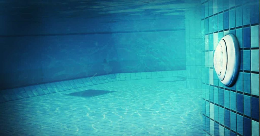 underwater pool lighting installation by Sublime Pools and Spa