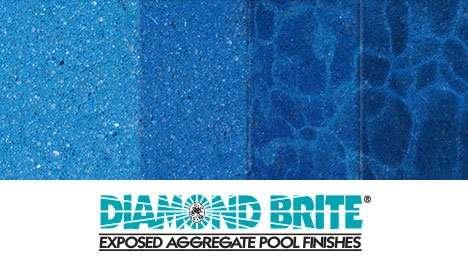 Diamond Brite Exposed Aggregate Finish - Midnight Blue Color Gradient Guide