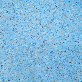 Diamond Brite Color - Tahoe Blue - Exposed Aggregate Finish Color Grid