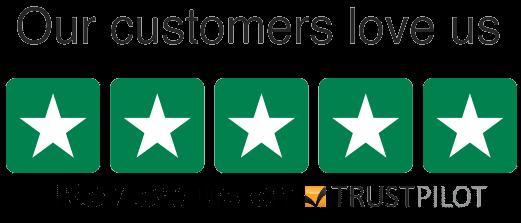 Trust Pilot 5 star review