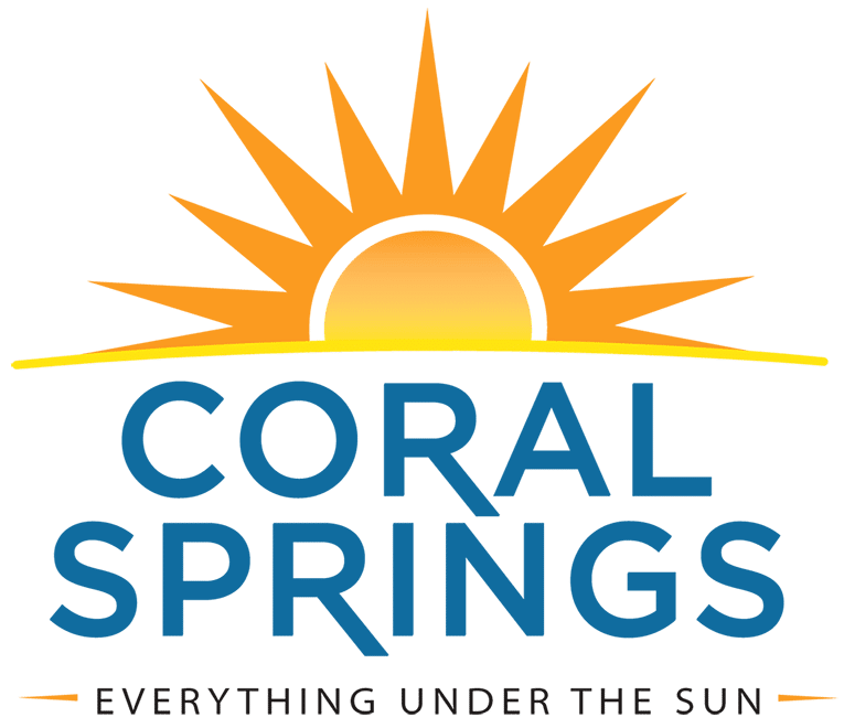 Coral Springs, Florida Logo Transparent Background