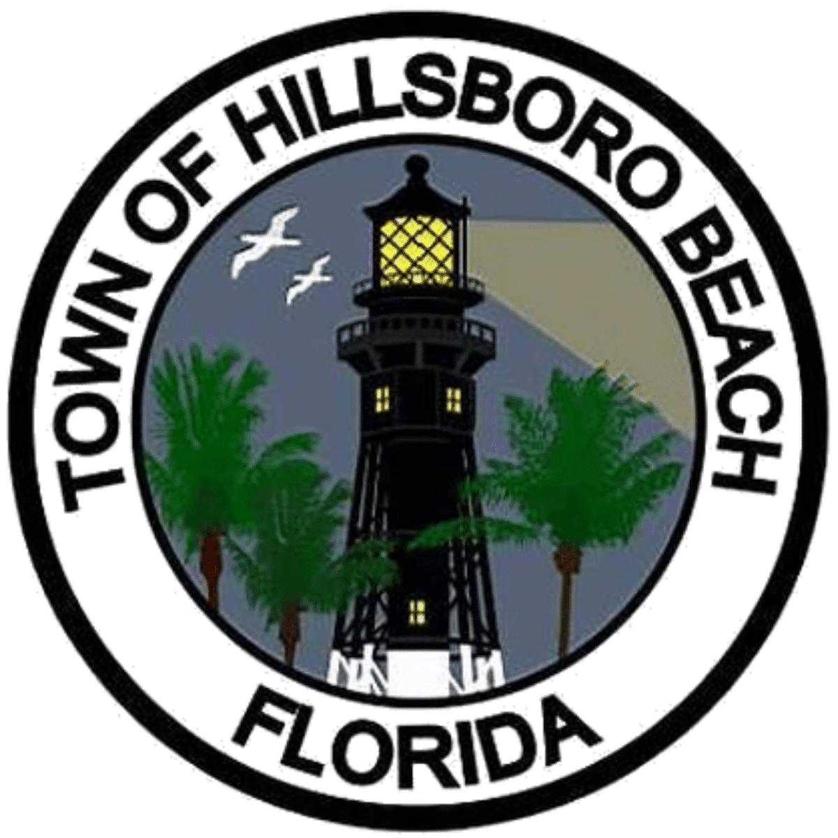 Hillsboro Beach City Logo No Background