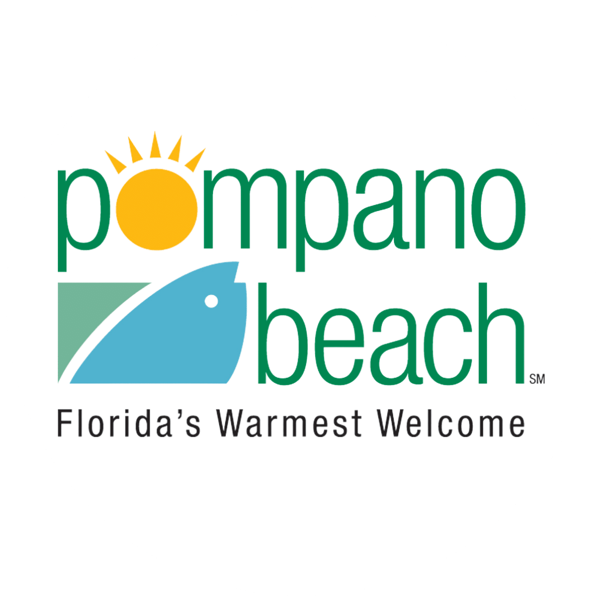 Pompano Beach City Logo No Background