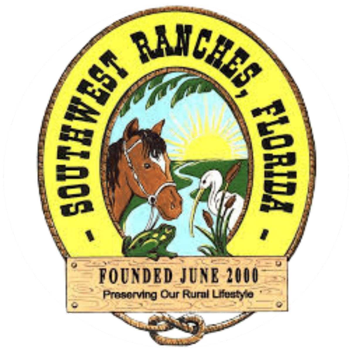 Southwest Ranches City Logo No Background