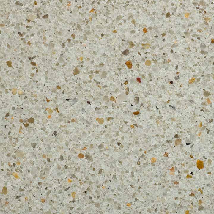 Florida Stucco - White Gem Plastering Finish Close Up