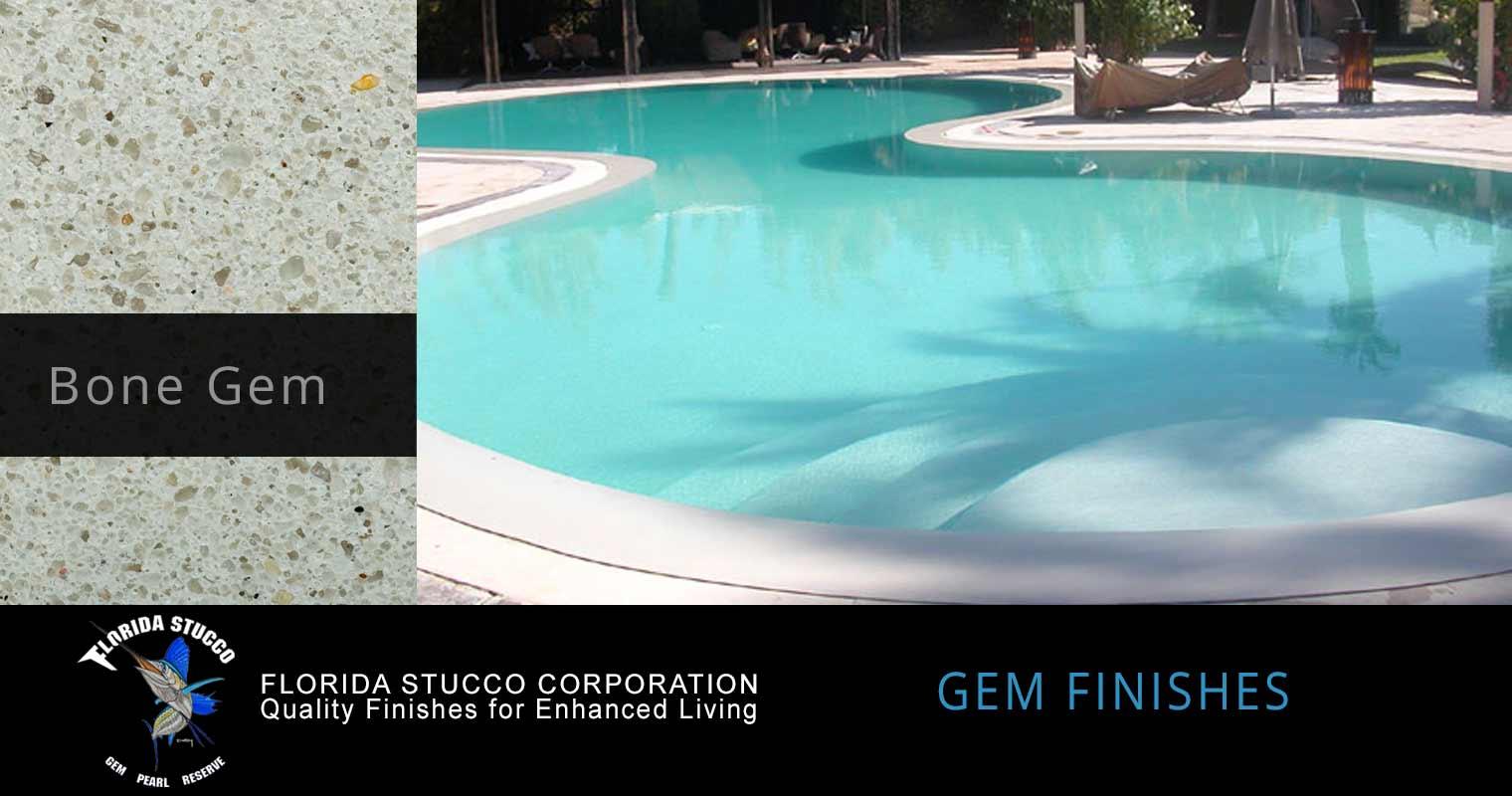 Florida Stucco - Bone Plastering Finish Sample 1