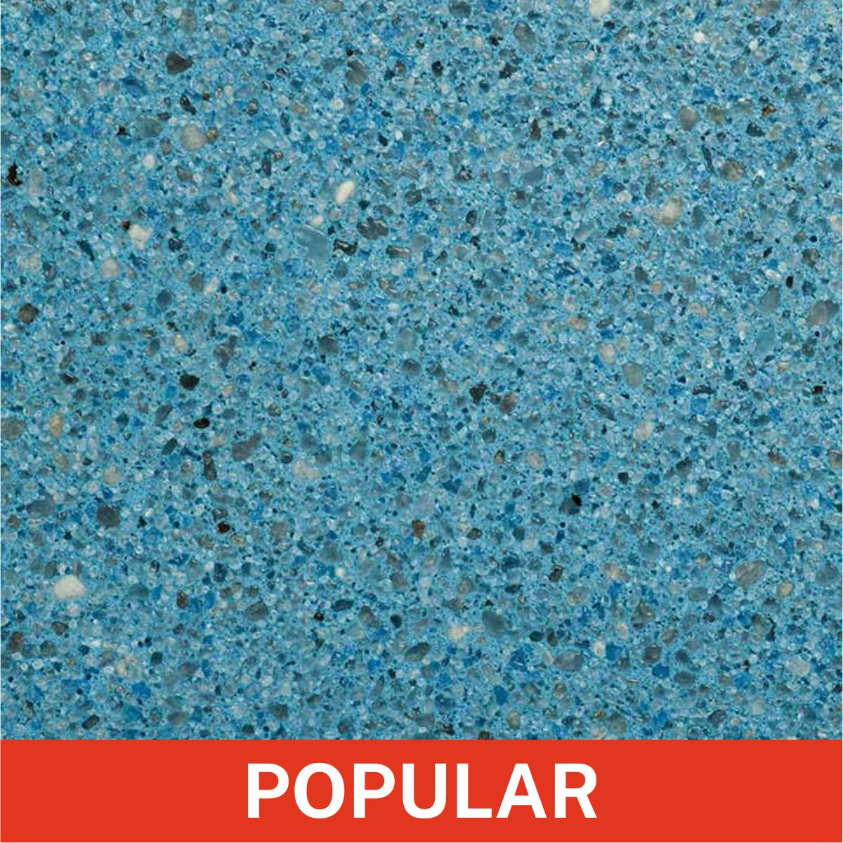 Florida Stucco - Azure Plaster Cement Finish Close Up (Popular)