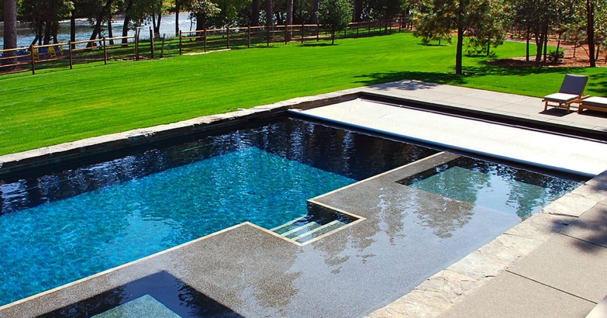 Pool cover automation that is controlled through your iPhone