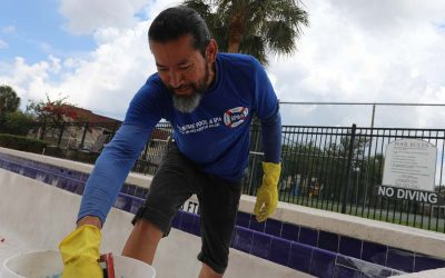 Pool repair performed by John Chaves, Owner and CEO of Sublime Pools & Spa